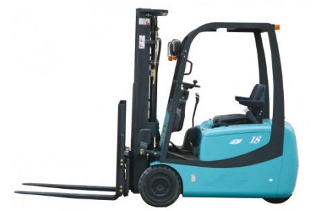 Three-wheel Electric forklift truck