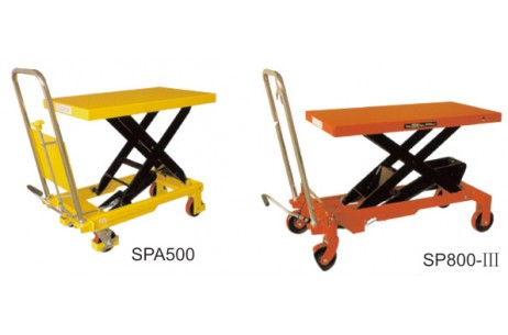 Scissors lift table SP150,SP300,SP500,SP800,SPA300,SPA500,SPS350