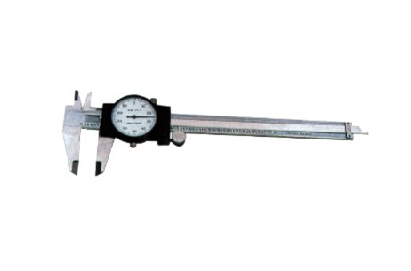 Dial Calipers with Cover, Double-gear