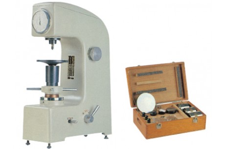 Rockwell Type Hardness Tester with Automatic Dial Weight Selection
