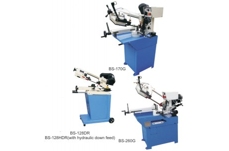 Metal Saw Machine BS128DR/HDR,BS-170G,BS-260G