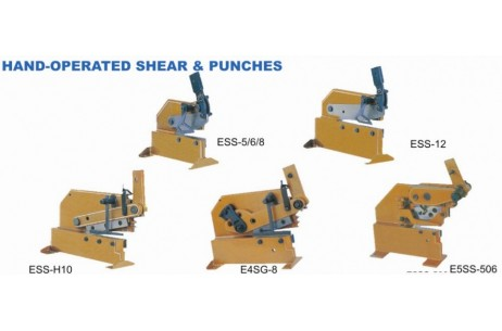 HAND-OPERATED SHEAR &PUNCHES