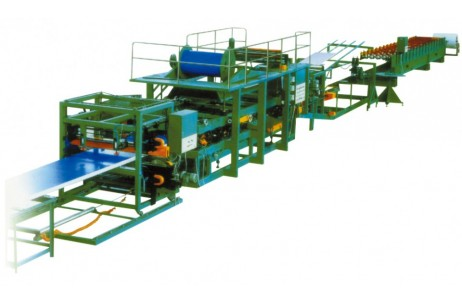 Multi-Function Color Steel Sandwich Panel Production Line