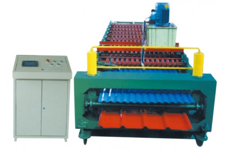 Double-Deck Color Steel Roller Forming Machine