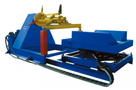 10T hydraulic Un-coiler (with Coil Car)
