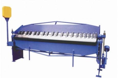 manual type folding machine