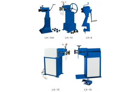 Universal Hand,Power Swaging, Tennying and Wiring Machine
