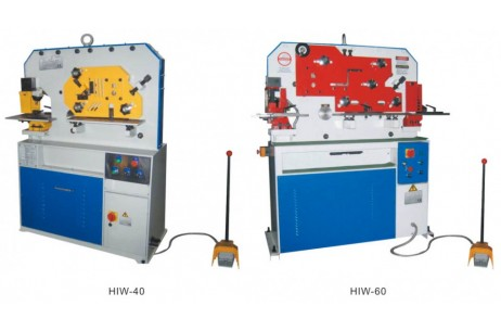HIW-Series Single Cylinder hydraulic Iron Worker