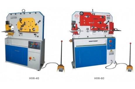 HIW-Series Single Cylinder hydraulic Iron Worker