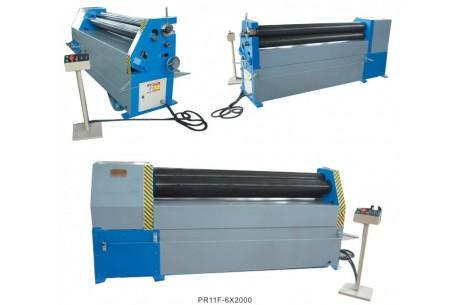 Mechanical 3 Roller Asymmetric Plate Bending Machine