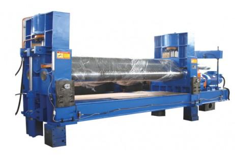 Hydraulic 3-Rollers Symmetrical Platerolling Machine