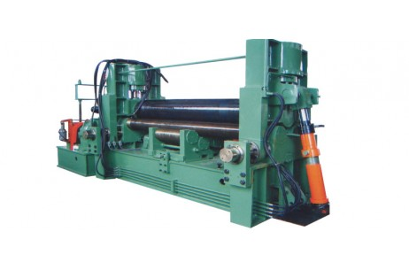 Hydraulic Rpper Roller Universal Plate Rolling Machine