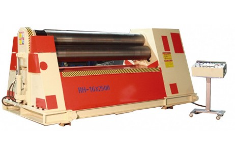 Rollers Hydraulic Plate Bending Machine With Arc Adjustment